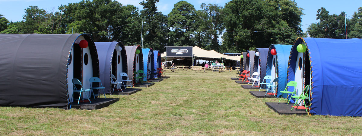 Glamping Sites & VIP Festival Areas